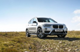 BMW X1, front