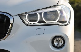 BMW X1, headlight