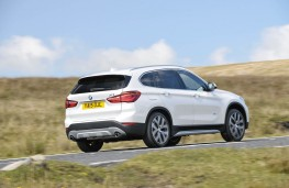 BMW X1, rear