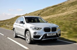BMW X1 2015, front
