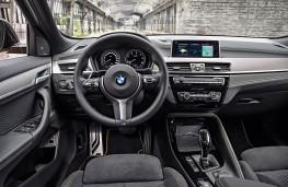 BMW X2, 2017, interior