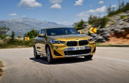 BMW X2, 2017, front