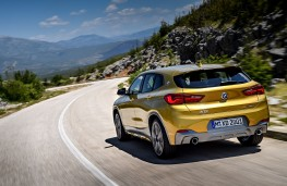 BMW X2, 2017, rear