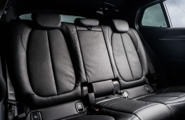 BMW X2, 2018, rear seats
