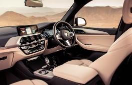 BMW X3, interior