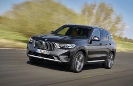 BMW X3, 2021, front