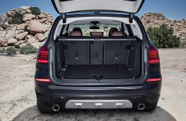BMW X3, 2017, boot