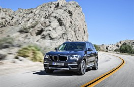 BMW X3, 2017, front