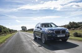 BMW X3 xDrive30e, 2020, front