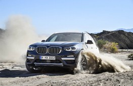 BMW X3, 2017, front, off road