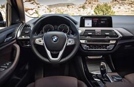 BMW X3, 2017, interior