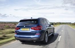 BMW X3 xDrive30e, 2020, rear