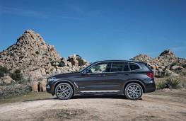BMW X3, 2017, side