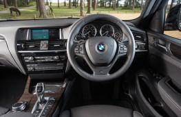 BMW X4, dashboard