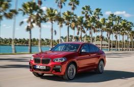 BMW X4 M40d, 2018, front