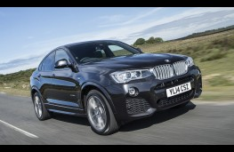 BMW X4, front