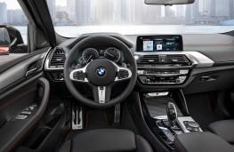 BMW X4 M40d, 2018, interior