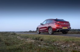 BMW X4 xDrive 20d M Sport, 2018, rear, static