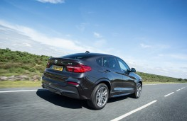 BMW X4, rear, action
