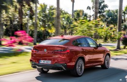 BMW X4 M40d, 2018, rear, action