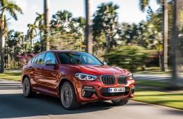 BMW X4 M40d, 2018, front, action
