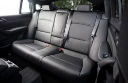 BMW X4, rear seats
