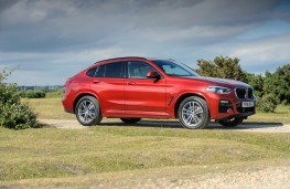 BMW X4 xDrive 20d M Sport, 2018, side