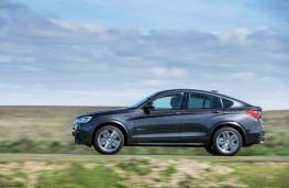 BMW X4, side, action