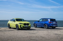 BMW X4 and X3 Competition, 2021
