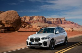 BMW X5, 2018, front
