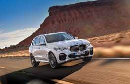 BMW X5, 2018, front, action