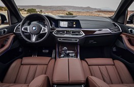BMW X5, 2018, interior