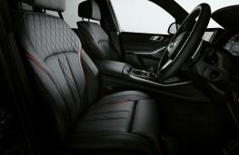 BMW X5 Black Vermillion Edition, 2021, interior