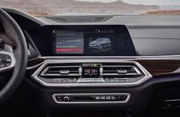 BMW X5, 2018, display screen