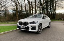 BMW X6, 2021, front