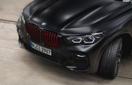 BMW X6 Black Vermillion Edition, 2021, front, detail