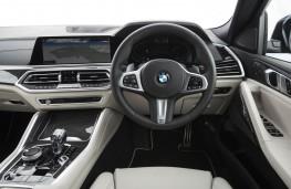BMW X6, 2019, interior