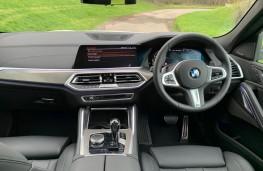 BMW X6, 2021, interior