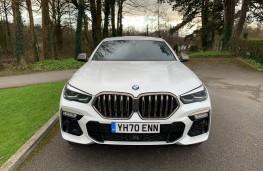 BMW X6, 2021, nose