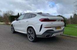 BMW X6, 2021, rear