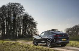 BMW X6, 2019, rear