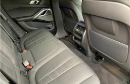 BMW X6, 2021, rear seats