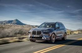 BMW X7, 2018, front