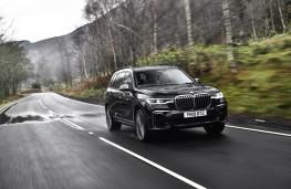 BMW X7 M50d, 2019, front