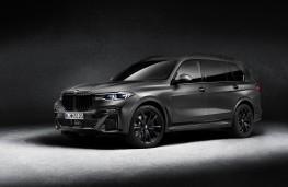 BMW X7 Dark Shadow Edition, 2020, front