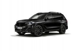 BMW X7 Frozen Black Edition, 2021, front