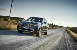 BMW X7, 2018, front, action