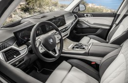 BMW X7, 2018, interior