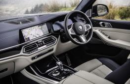 BMW X7 M50d, 2019, interior