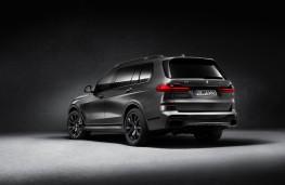 BMW X7 Dark Shadow Edition, 2020, rear
